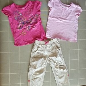 Mix and Match Tees and Crop Pants